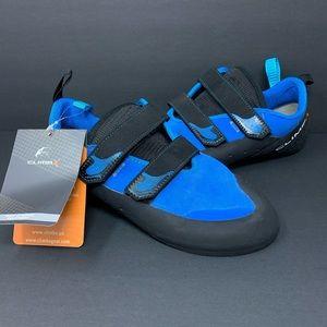CLIMB X Rave Strap Blue Rock Hemp Climbing Shoes
